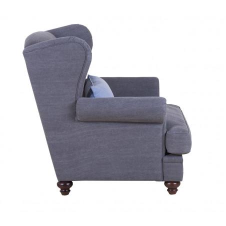 Ferrara nowoczesna sofa narożna z szezlongiem 257x370x190cm