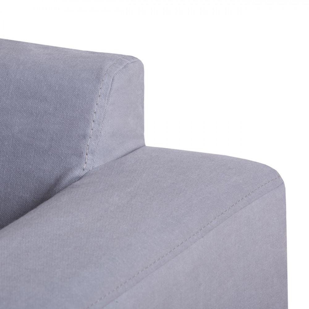 Pure pufa z luźnym pokrowcem 84 x 84 cm
