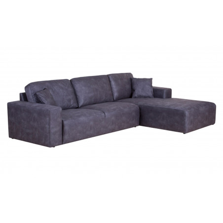 Montreal sofa narożna z szezlongiem i luźnymi poduszkami, wymiar 294 x 374 x 214 cm