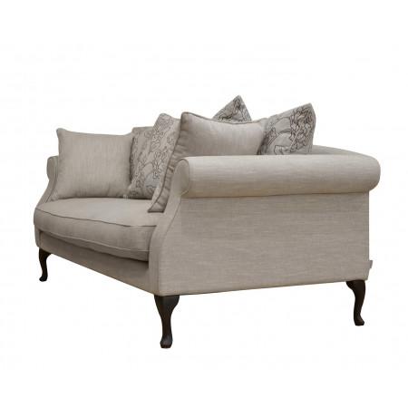 Portofino stylowa sofa tapicerowana 220 cm z pięknymi podłokietnikami