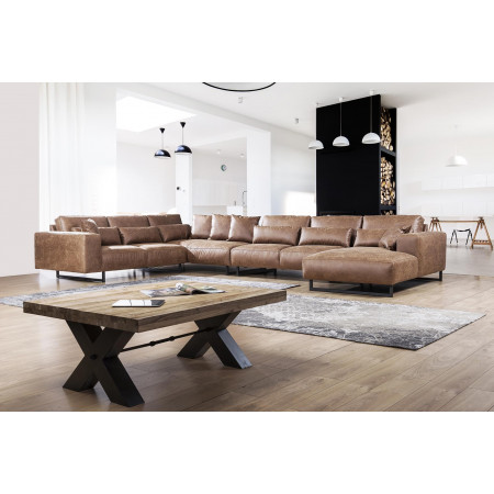 Narożna biblioteka Primavera Furniture w stylu prowansalskim