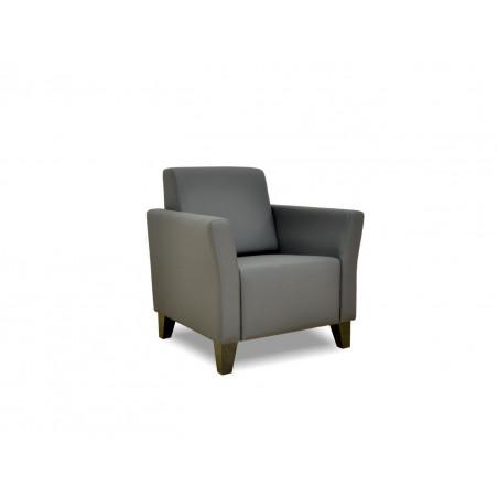 William krzesło z oparciem pikowanym guzikami 60x78cm