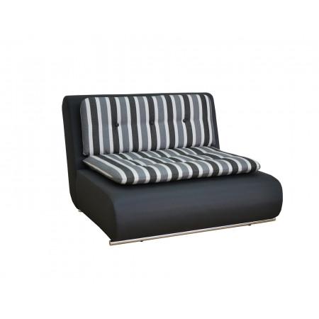 Fabien sofa z luźnym pokrowcem i funkcją spania