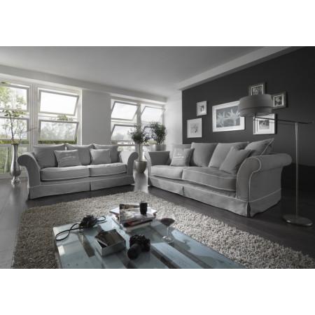 Zestaw trzech stylowych drewnianych stolików Primavera Furniture