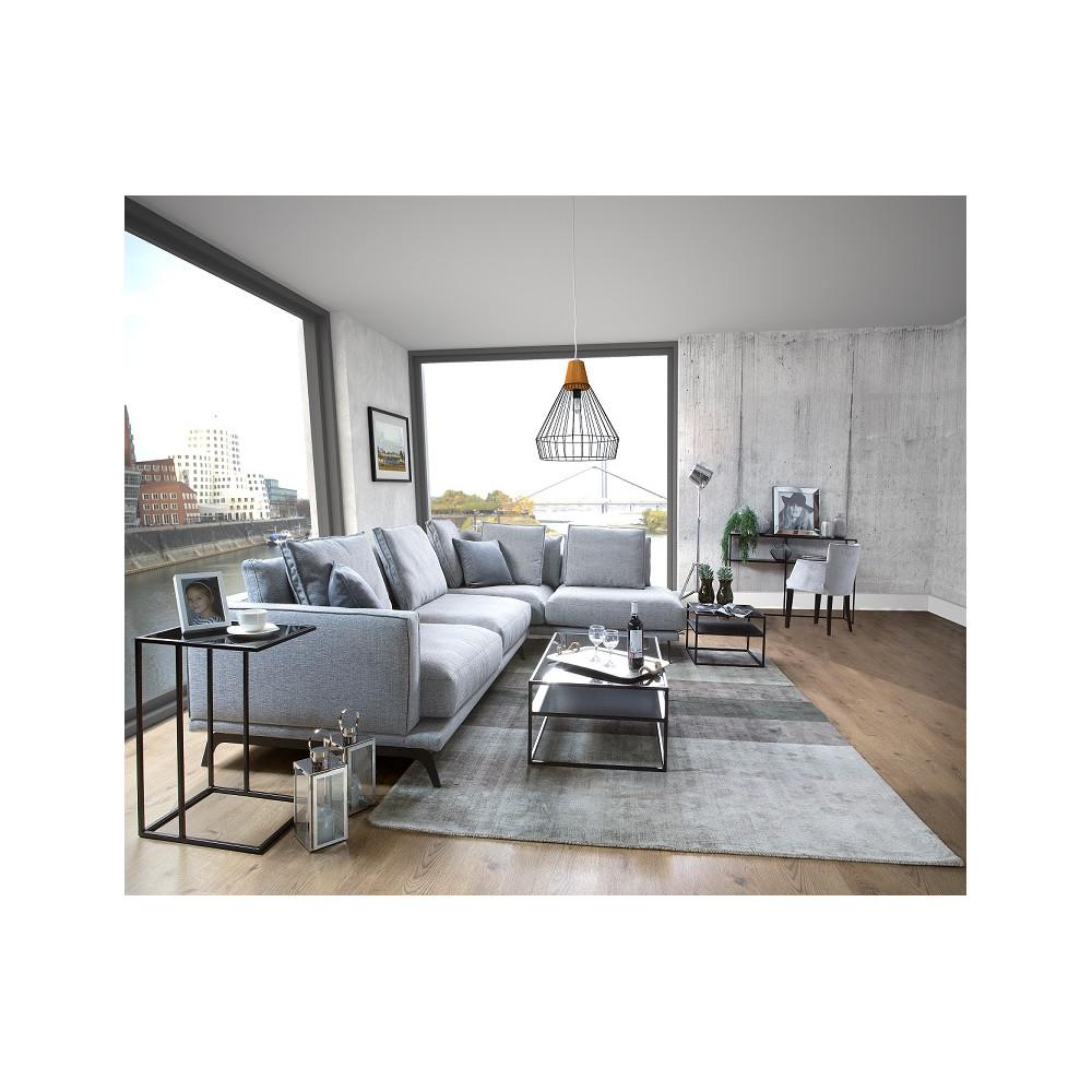Zestaw stylowych mebli do salonu z drewna sosnowego Primavera Furniture