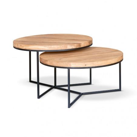 Stolik kawowy Primavera Furniture z blatem z granitu 100x80cm wysokość 38cm
