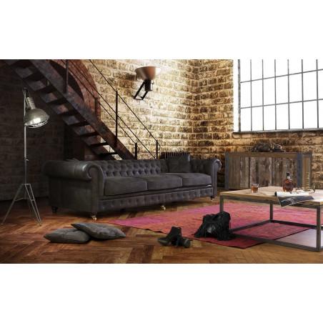 Stolik Primavera Furniture z dębowym blatem 50x50x40cm