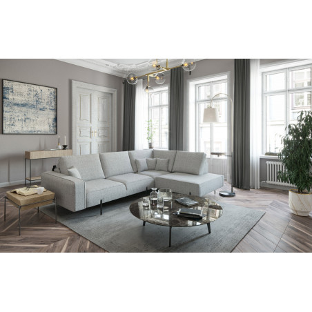 Komfortowa sofa z szezlongiem Onyx 385x180cm