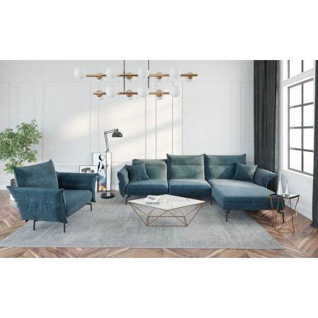 Pomocnik Primavera Furniture z będowym blatem 130x30x50cm