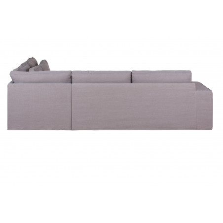 Ventimiglia sofa narożna ze zdejmowanym pokryciem i szezlongiem 289 x 177 cm