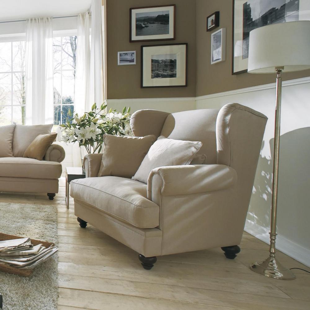 Alberta nowoczesna sofa z szezlongiem i siedziskami Max, szerokość 337 cm