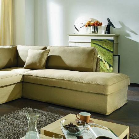 Lucca eleganckie krzesło 63x98cm z chromowanym uchwytem i ozdobnymi gwoździami