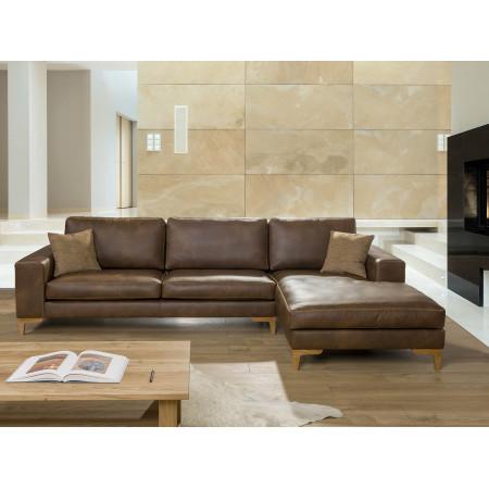 Ventimiglia sofa narożna z luźnym pokrowcem i szezlongiem