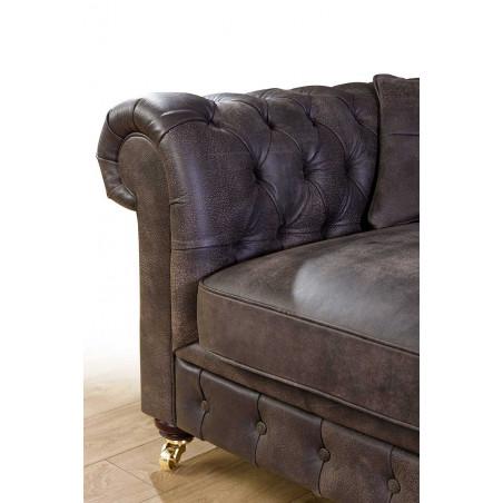 Elegancki fotel Gand 164cm ze zdejmowanym pokrowcem