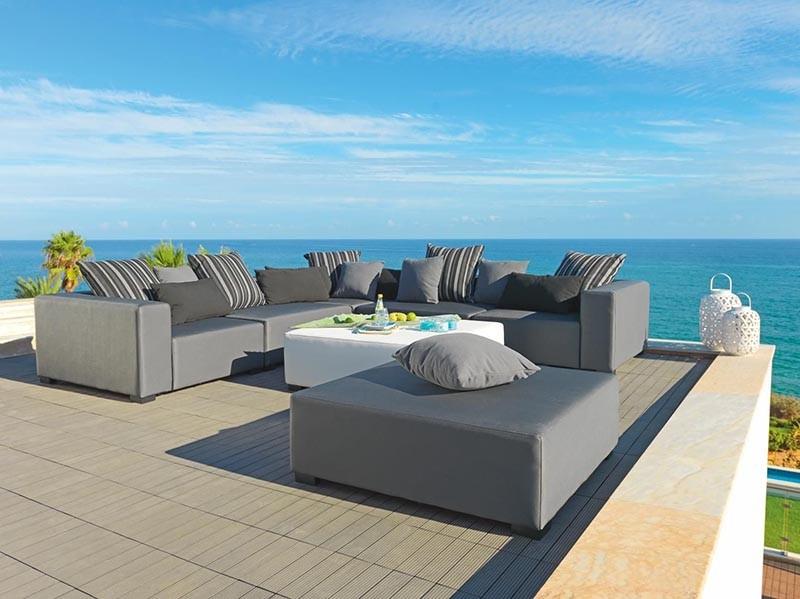 Sierra ca oroczny zestaw mebli ogrodowych sofa o wymiarze for Sofa exterior 120 cm