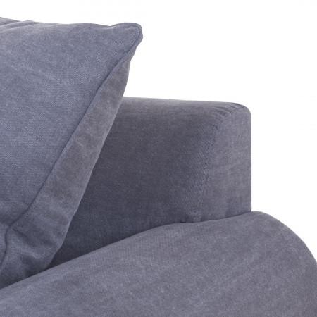 Chelsea 200cm stylowa sofa z luźnymi poduszkami