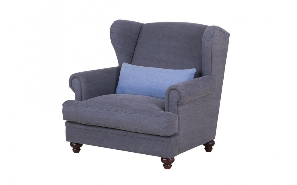Chelsea stylowy fotel uszak