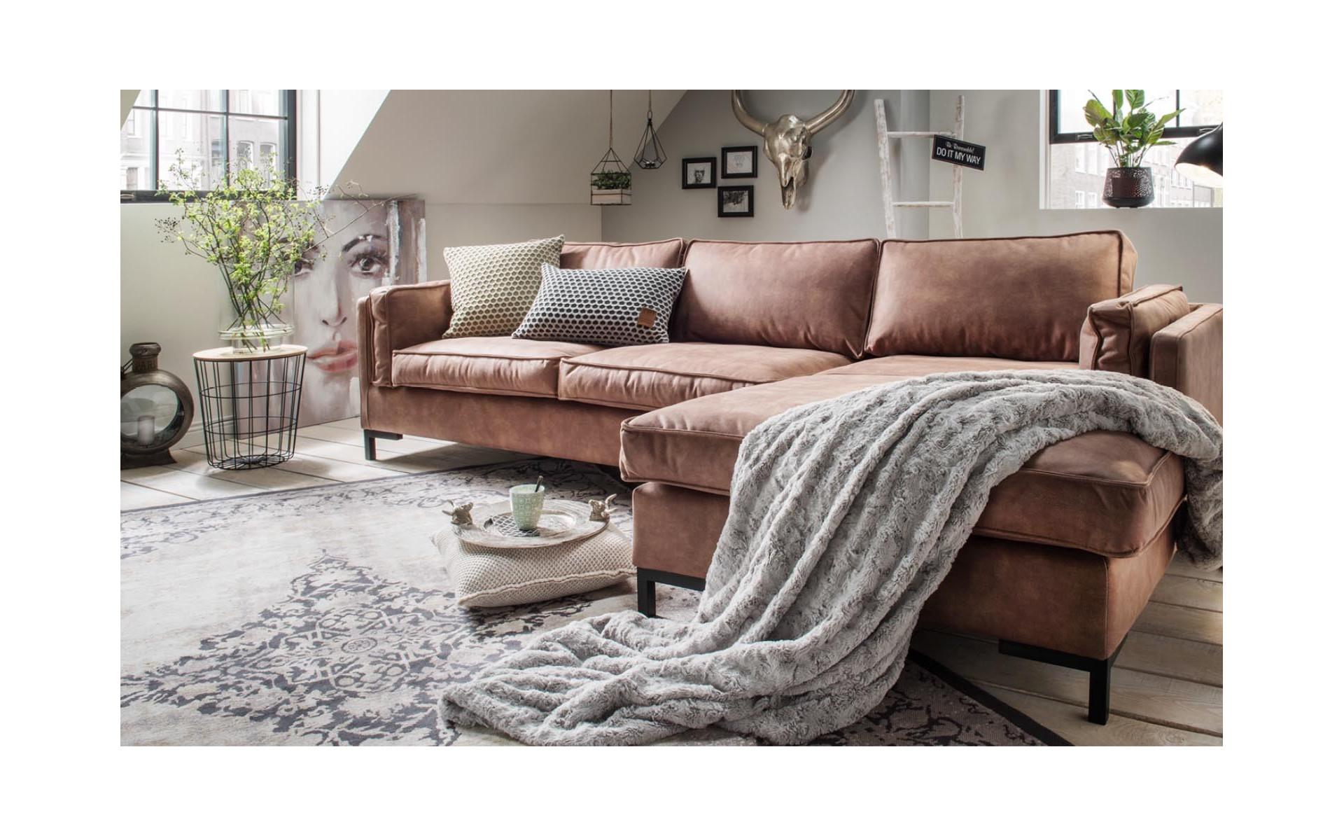 Western 264cm nowoczesna sofa na metalowej ramie