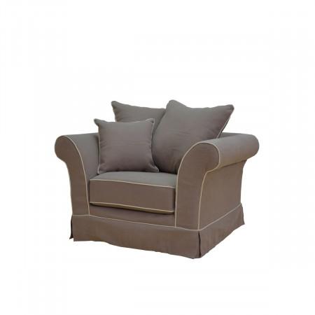 Kore fotel z luźnym pokrowcem