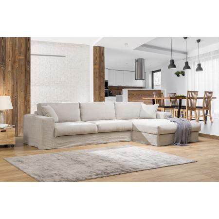 Edmonton komfortowa sofa z luźnym obiciem 310x175cm