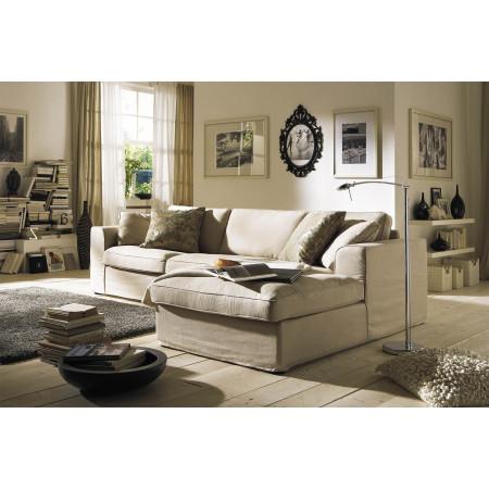 Fabien rozkładana sofa 275x190cm z szezlongiem i zdejmowanym pokrowcem