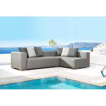 Big Dan sofa modułowa na taras i do ogrodu, model z ekspozycji. Meble całoroczne, najwyższy komfort w Twoim ogrodzie