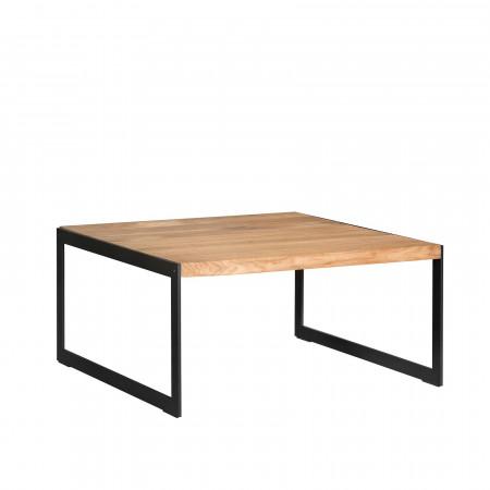 Kos stolik z dębowym blatem 80x80x40cm