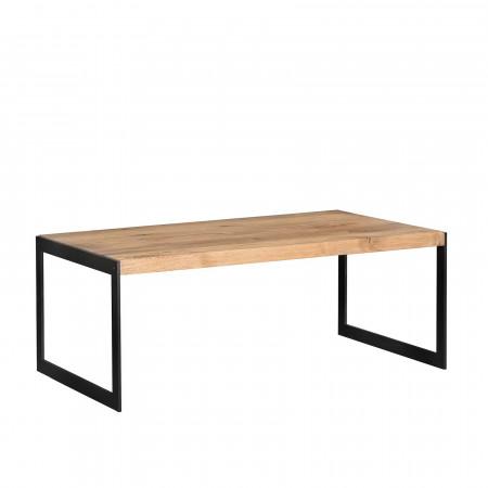 Kos stolik z dębowym blatem 100x80x40cm