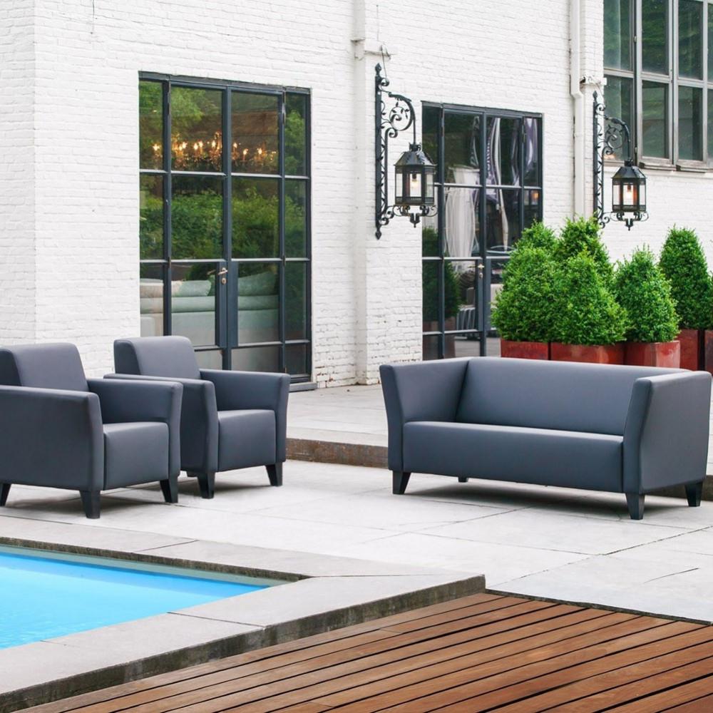 Luxemburg 2,5 sofa z luźnym pokrowcem