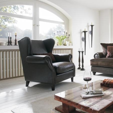 Milord 1 stylowy fotel tapicerowany