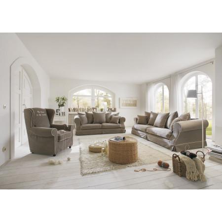Fabien narożna sofa 260cm x 235cm z terminalem i zdejmowanym pokrowcem