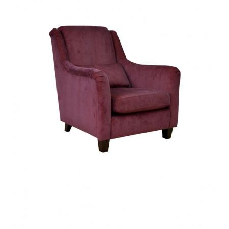 Morgan 91cm stylowy fotel w lnianej tkaninie
