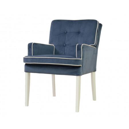 Andrea krzesło tapicerowane z miękkim siedziskiem