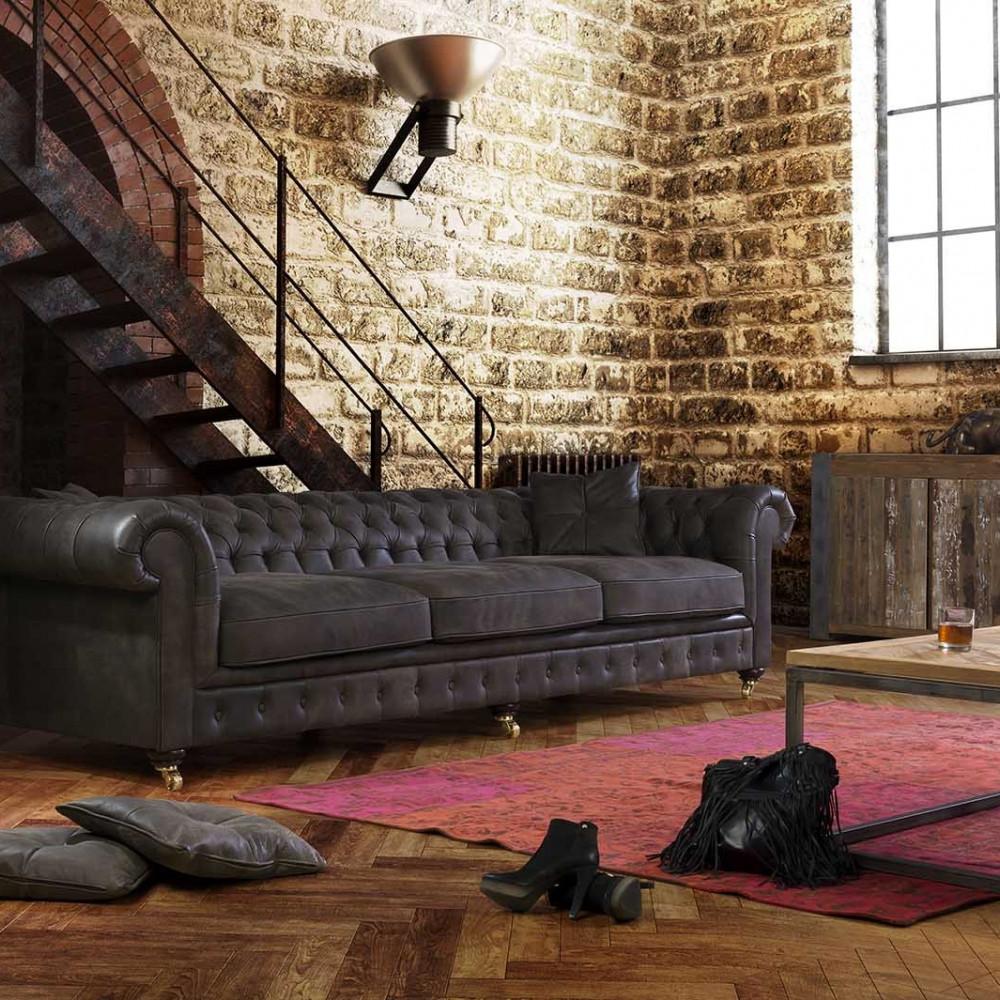 Stolik kawowy Primavera Furniture z dębowym blatem 50x50x40cm