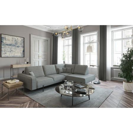 King Bridge stylowa sofa 203x342cm z szezlongiem