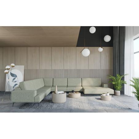 Chelsea sofa 230cm z luźnymi poduszkami