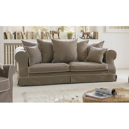 Elena 2,5 sofa z luźnym pokrowcem