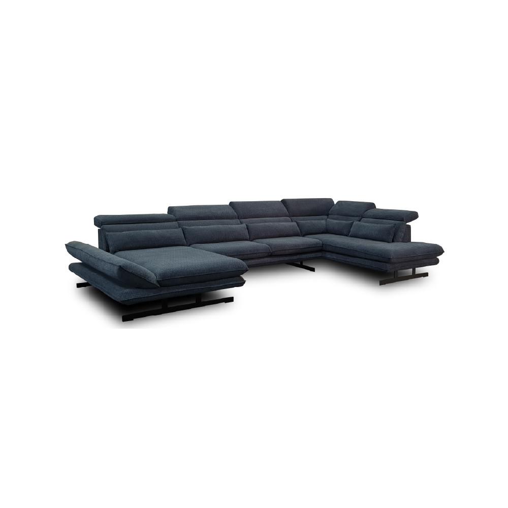 Metalowy stolik 60x100cm h46cm w kolorze czarny mat