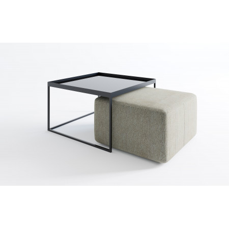 Rena krzesło tapicerowane 57cm z podłokietnikami