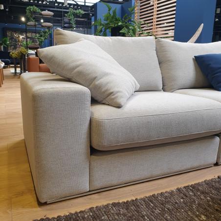 Fabien sofa 190x259cm z szezlongiem i zdejmowanym pokrowcem