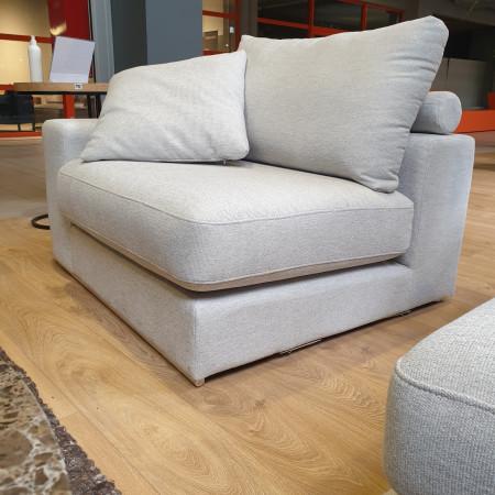 Fabien sofa 259x190cm z szezlongiem i zdejmowanym pokrowcem