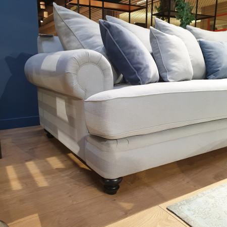 King Bridge stylowa sofa 287cm z poduszkami