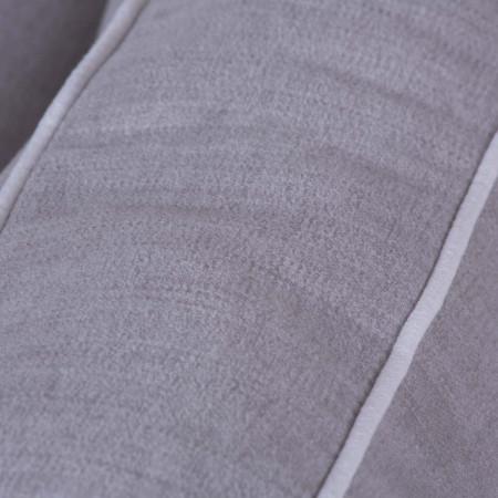 Toledo 136cm stylowy fotel tapicerowany z oparciem pikowanym guzikami