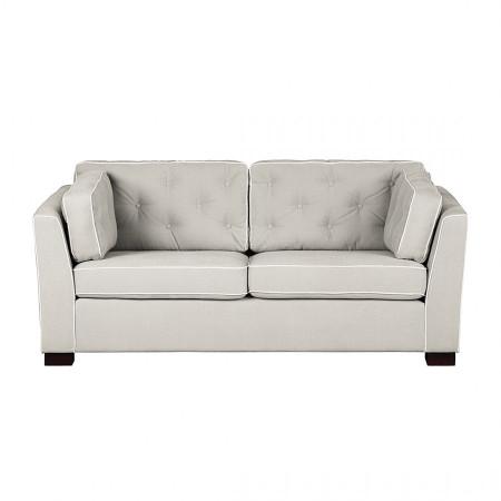 Danzing sofa 237 cm z oparciami pikowanymi guzikami