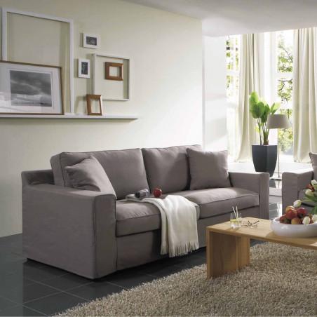 Argentina sofa modułowa ze zdejmowanym pokrowcem o wymiarze 236x390x236cm