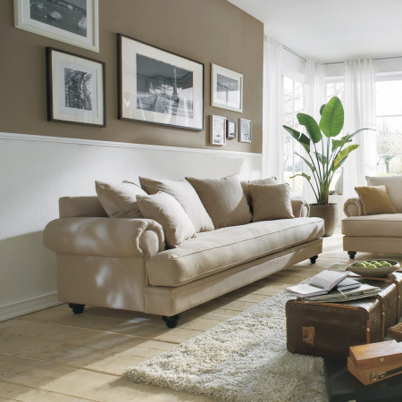 Chelsea stylowa sofa 230cm z jednym siedziskiem
