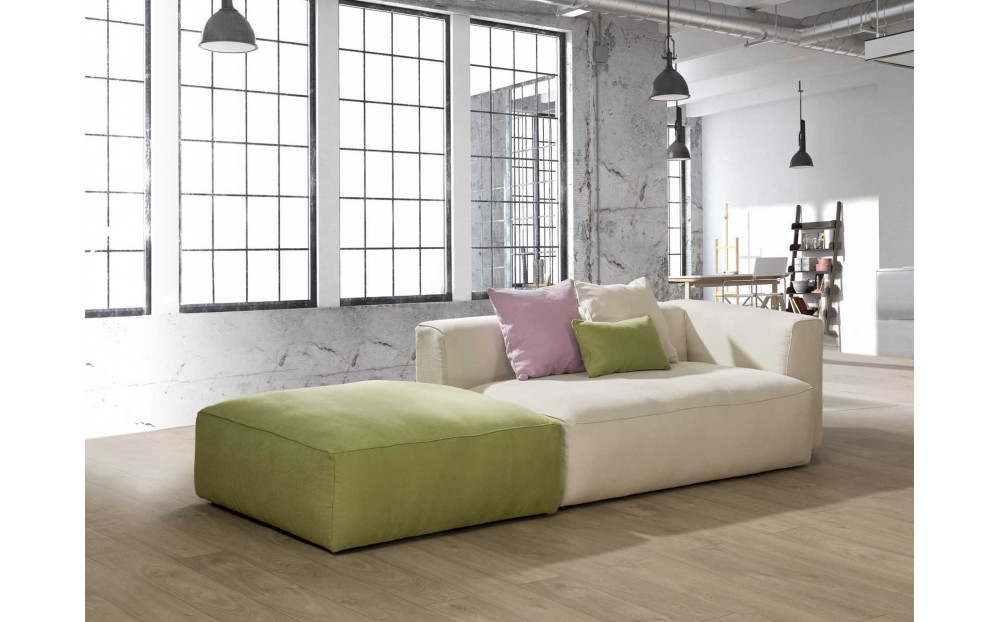 Modułowa sofa B Box w pastelowych tkaninach. Kolekcja PREMIUM