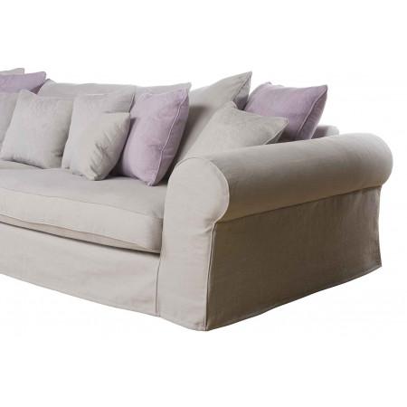 Harrington 191 cm komfortowa sofa w angielskim stylu