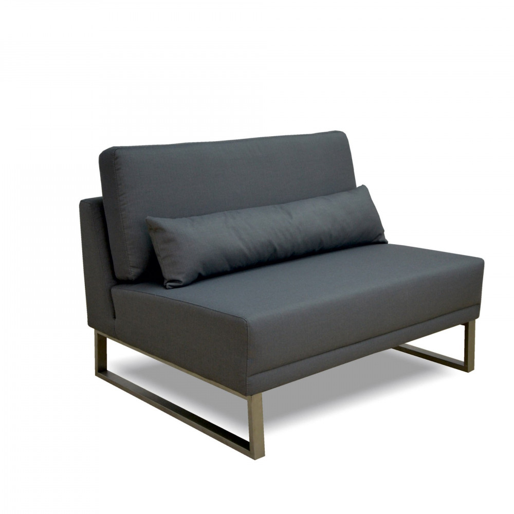 Cubick sofa narożna ogrodowa. Całoroczne meble do ogrodu.