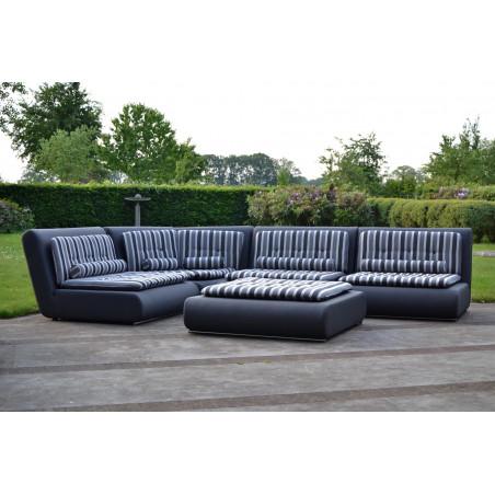 Cubick idealny fotel na taras lub balkon. Całoroczne meble do ogrodu.